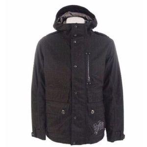 Burton Men's Franchise Jacket True Black Small